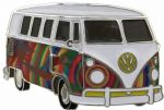 . VW Beachsurf Campervan Officially Licensed Belt Buckle with display stand and presentation box. Code VWVAN03